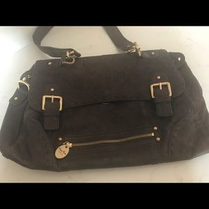 Brown Leather Tracy Reese Purse/ Sachel